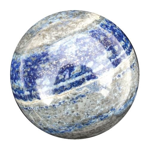 Lapis Lazuli Fortune Telling Crystal Ball,  Scrying and Divination Gemstone Sphere 57mm 290g (LB4)